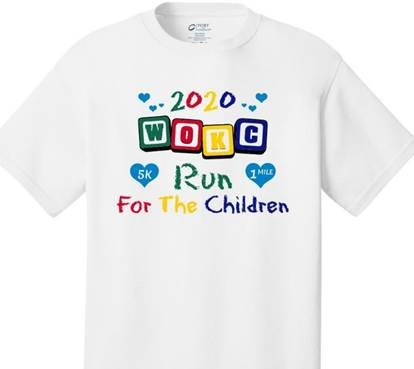 • 2020's Run for the Children t-shirt