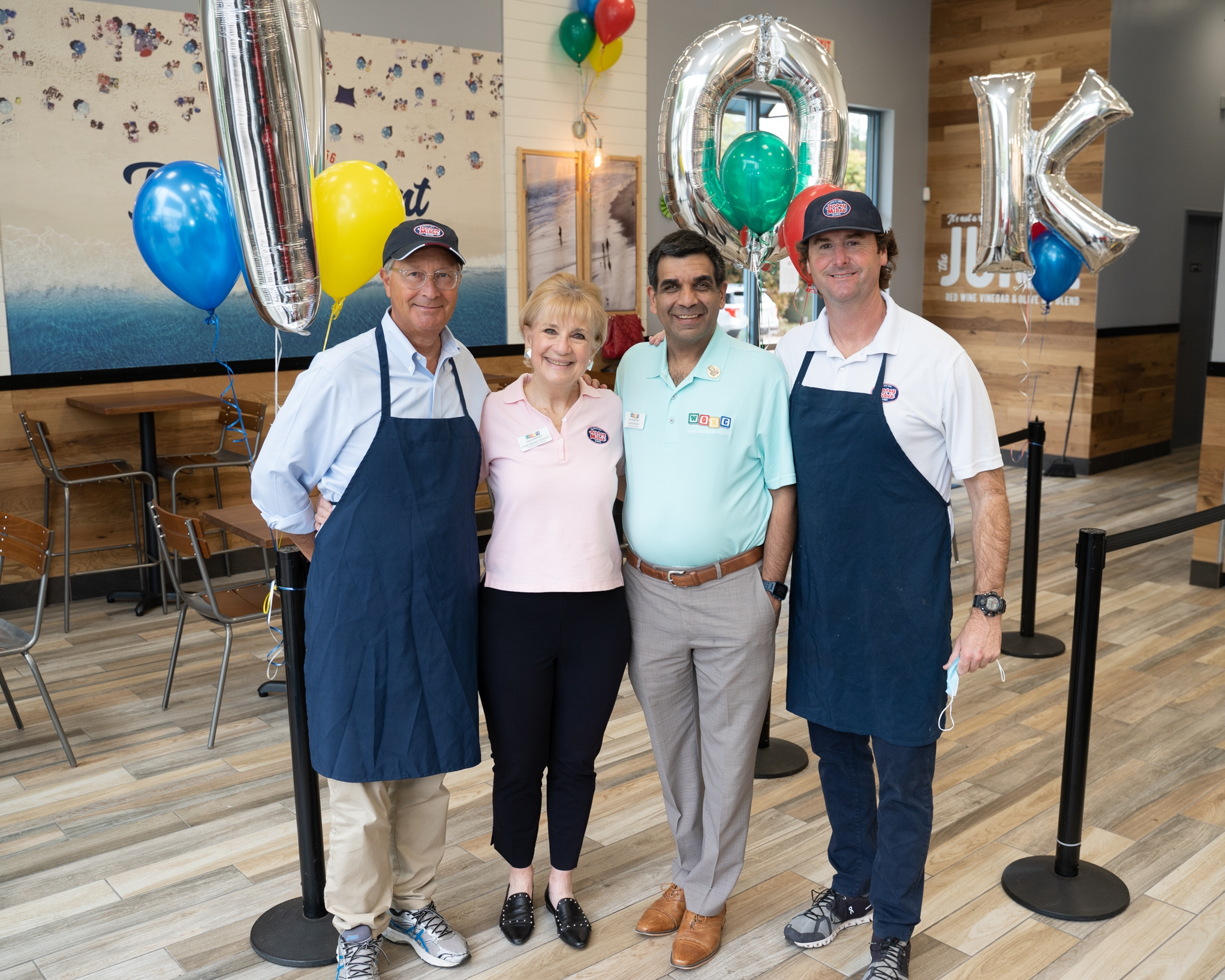 DFW AREA JERSEY MIKE'S RAISE $745,250 FOR WIPE OUT KIDS' CANCER